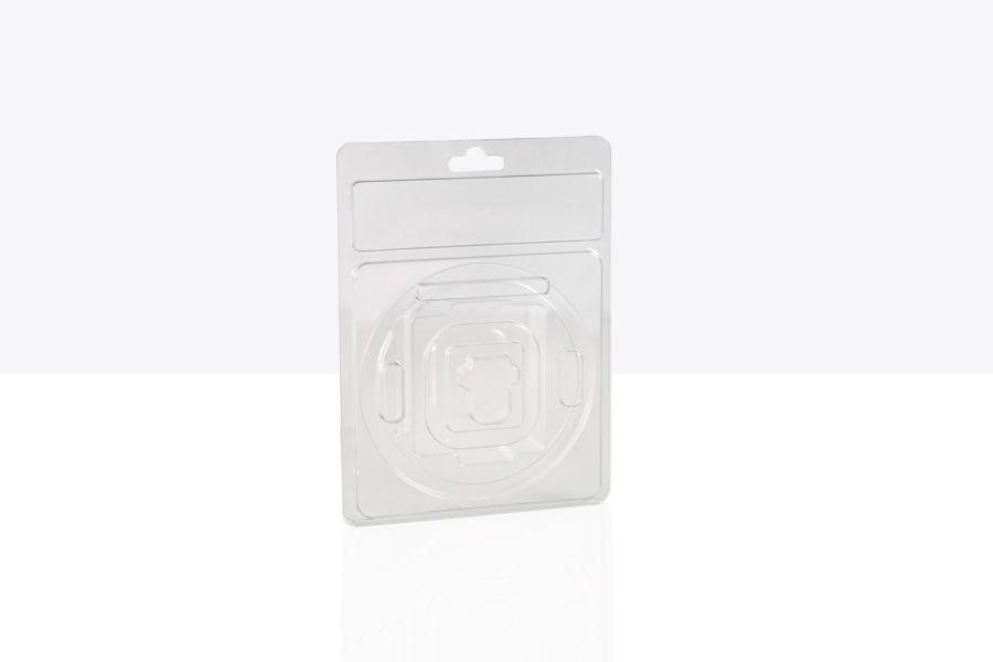 Bi-valve pressure seal