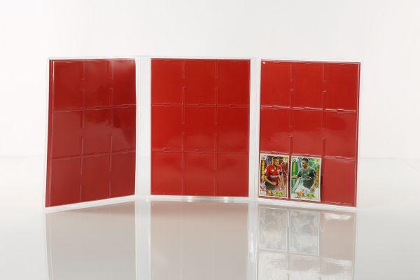 Raccoglitori per card termoformati