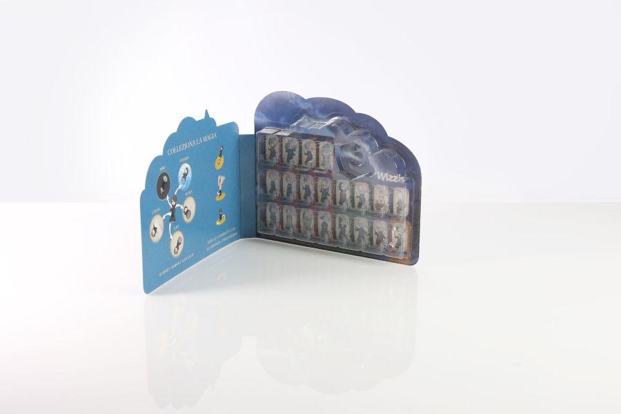Valva termoformata saldata su cartoncino trattato